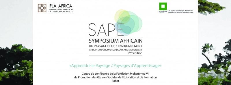SYMPOSIUM AFRICAIN DU PAYSAGE ET DE L'ENVIRONNEMENT – 13/14 Juillet