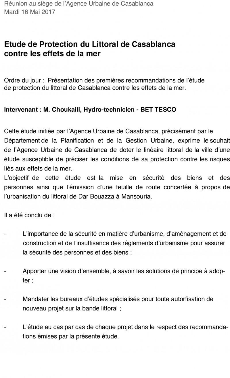 REUNION AVEC L'AUC